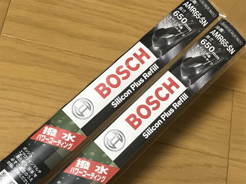 BOSCH Aerotwin Multi 専用替えゴム / シリコンプラスリフィール