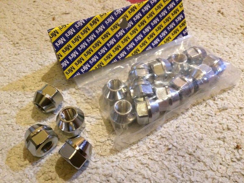 Mini Spares 純正スチールホイール用貫通ナット