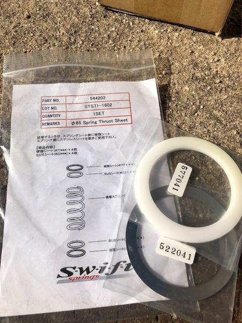 TOHATSU SPRINGS / SWIFT Swift スプリングスラストシート ID65