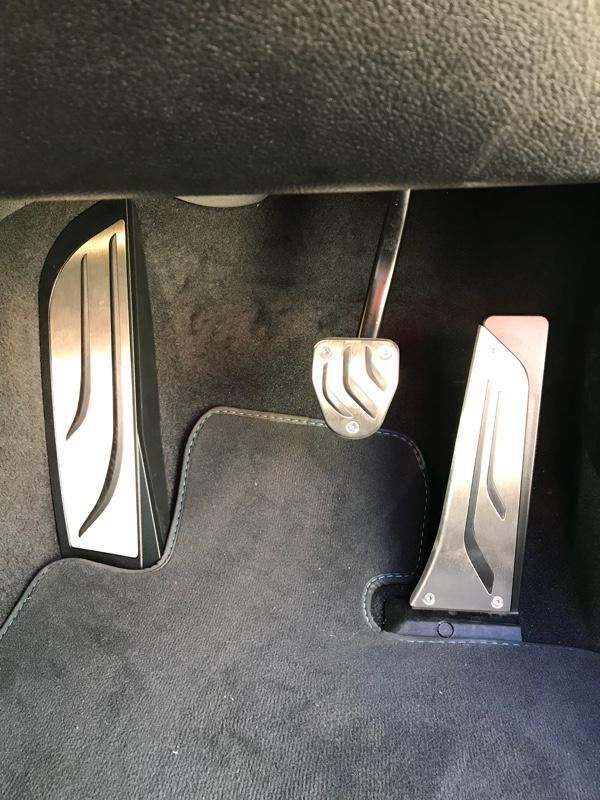 BMW(純正) ステンレススチールペダルセット