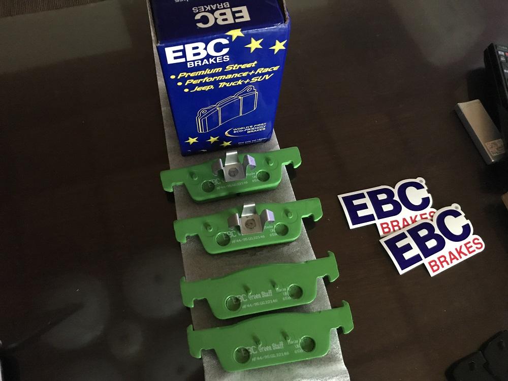 EBC BRAKES グリーンスタッフ パッド