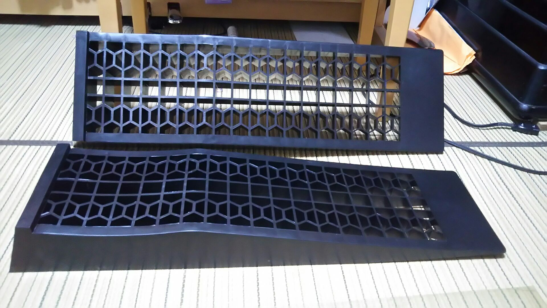 AZZURRI PRODUCE カースロープ ローダウン車対応 耐荷重2t 2本セット