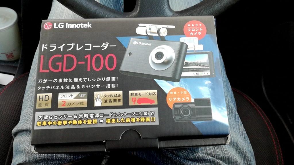 LG innotek ドライブレコーダー LGD-100