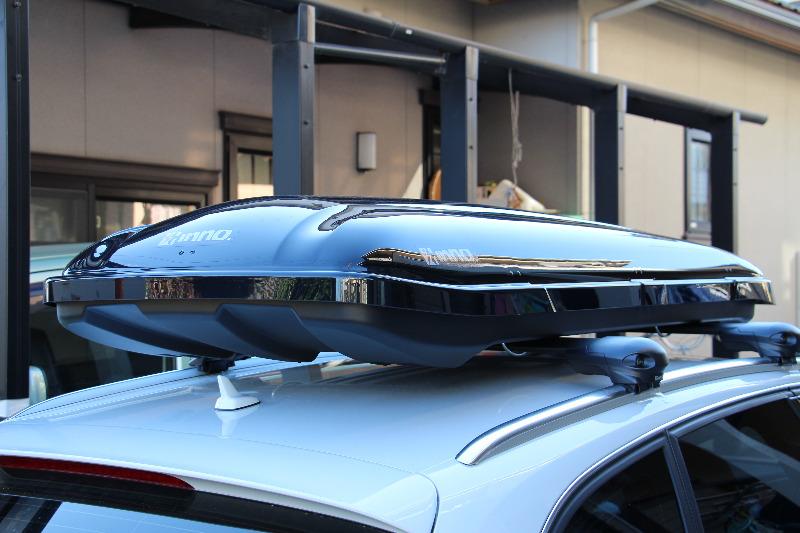 CAR MATE / カーメイト inno inno ルーフボックス55 ブラック / BR55BK