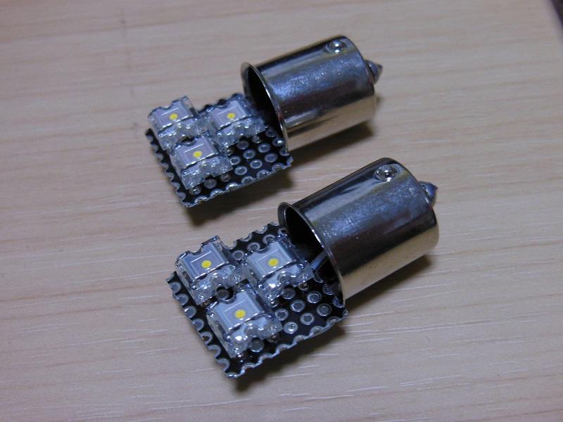 不明 NA専用 電球色LED ライセンスランプ