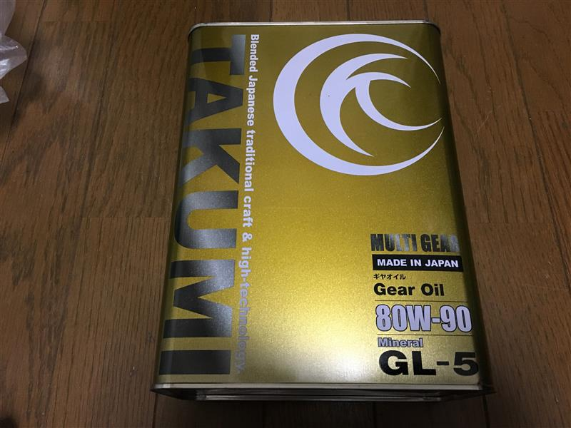 TAKUMIモーターオイル/AKTジャパン MULTI GEAR 80W-90
