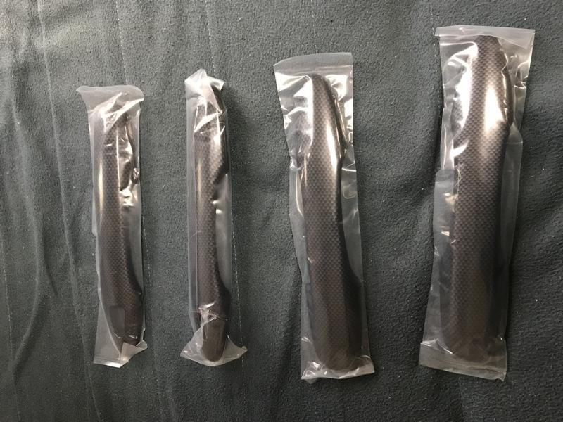 ユアーズ 新型 プリウス 50 専用 ドアノブカバーガーニッシュ×4PCS カーボンタイプ