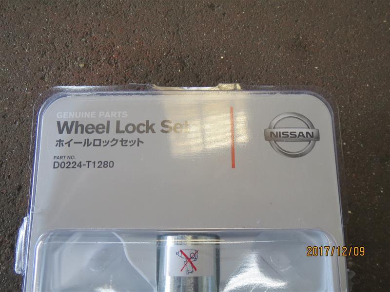 日産(純正) Wheel Lock Set/ホイールロックセット