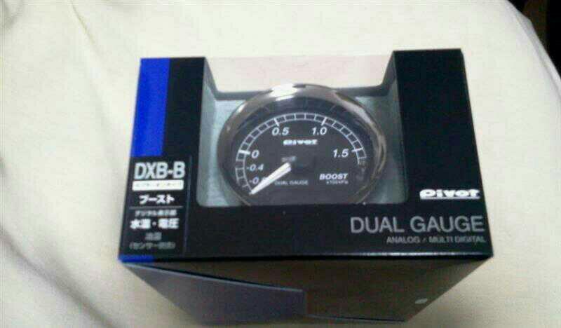 PIVOT DUAL GAUGE ブースト計 (DXB/DXB-B/DSB)