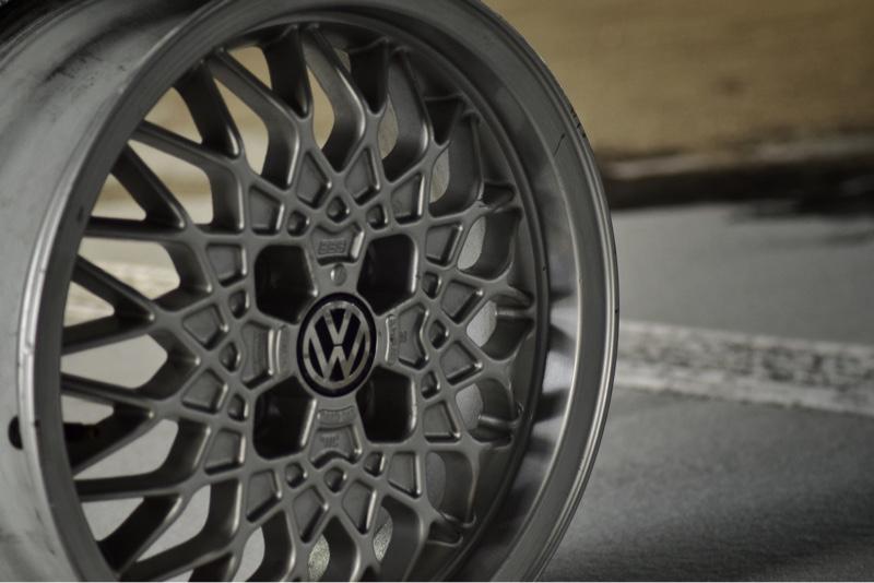 VW  / フォルクスワーゲン純正 BBSホイール 15インチ