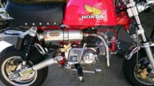 モンキー Z50Jアウテックス OUTEX  R-SAマフラーの単体画像