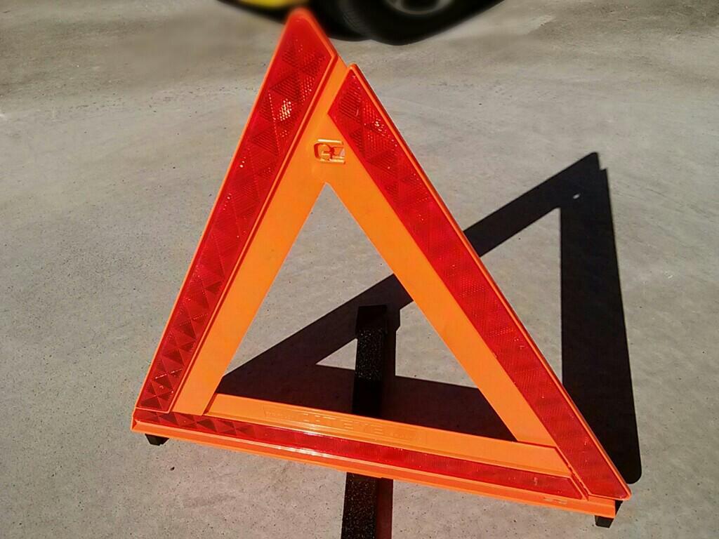 トヨタ純正 三角標示板