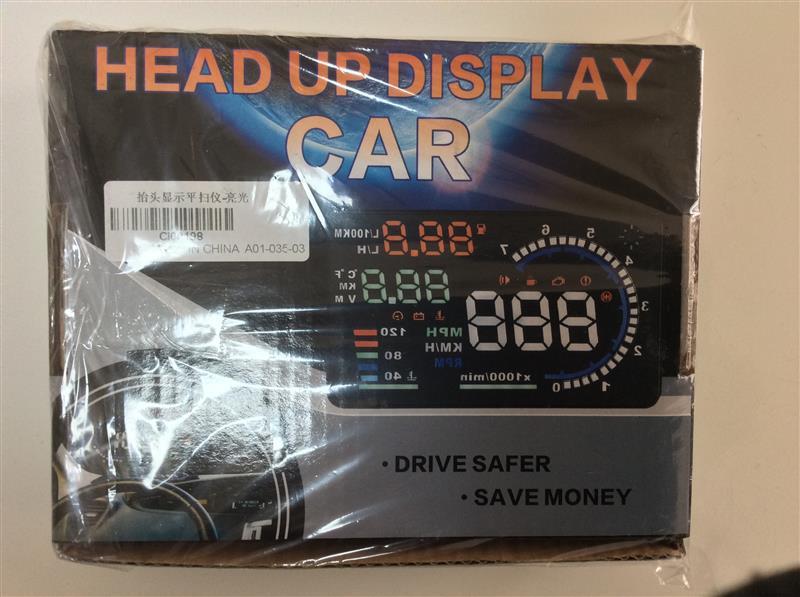 輸入品 ヘッドアップディスプレイ