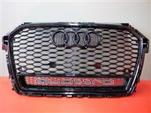 S1 スポーツバックHitotsuyama GmbH Audi A1(後期)/S1 RSタイプ フロントグリルの全体画像