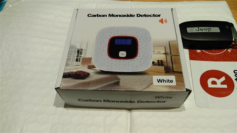 メーカー・ブランド不明 Carbon Monoxide Detector