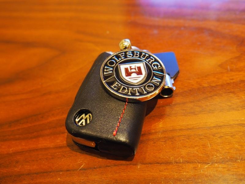 VW US純正 Wolfsburg 紋章・キーチェーン