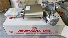 S4 (セダン)REMUS スポーツラベルマフラーの単体画像