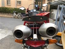 ムルティストラーダ 1000DSレオビンチ スリップオンの全体画像