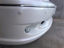 セルシオTOM'S フロントバンパーの全体画像