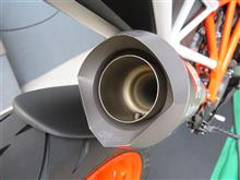 1290 SUPER DUKE Rオースティンレーシング GP1 スリップオンの全体画像