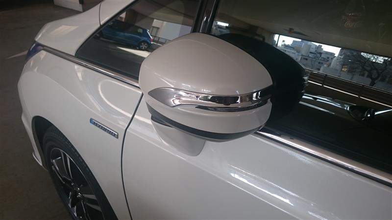 E-Drive メッキドアミラーカバー