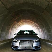 A3(セダン)Audi  US純正 S3用  USグリルの単体画像