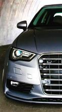 A3(セダン)Audi  US純正 S3用  USグリルの全体画像