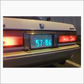 WORLD AUTO PLATE - 字光式ナンバープレート
