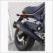 ZARD レーシングスリップオンマフラー ブラック