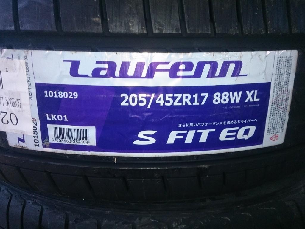 Laufenn S FIT EQ LK01 FSL 205//55R16 91V Pneumatico Estivo