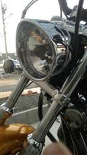 XL1200V純正OP ヘッドライトベゼルの単体画像