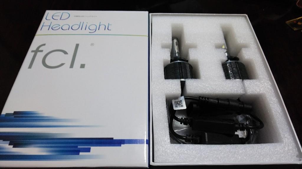 fcl. LED Head light HB3ファンレスタイプ ホワイト
