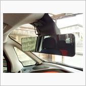 上海問屋 後方録画対応 ルームミラー型ドライブレコーダー DN-915203