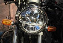 SRX250SS LIMITED HR54 モトLEDヘッドランプ ブラックボディ(汎用タイプ)の全体画像