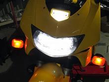 VTR1000F FIRE STORM (ファイアーストーム)NAO LEDヘッドライトの全体画像