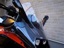 RC 390KTM POWER PARTS RACING BUBBLEの単体画像