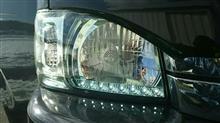 ハイエースワゴンDEPO クリスタルヘッドライト(レクサスグリーン)の単体画像