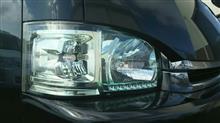 ハイエースワゴンDEPO クリスタルヘッドライト(レクサスグリーン)の全体画像
