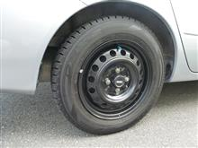 ランサー三菱自動車(純正) コルト用14インチスチールホイールの単体画像