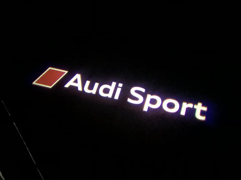audi純正 アウディ audi sport logo led door entrance lights のパーツ