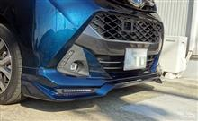 タンクカスタムTRD / トヨタテクノクラフト TRD Sportivo フロントスポイラーの単体画像