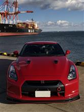 NISSAN GT-RMCR フロントリップスポイラーの全体画像