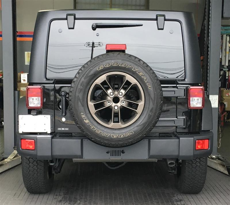 Jeep(純正) 75th ブロンズホイール