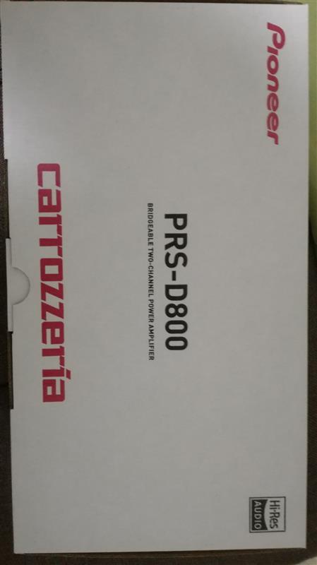 PIONEER / carrozzeria PRS-D800
