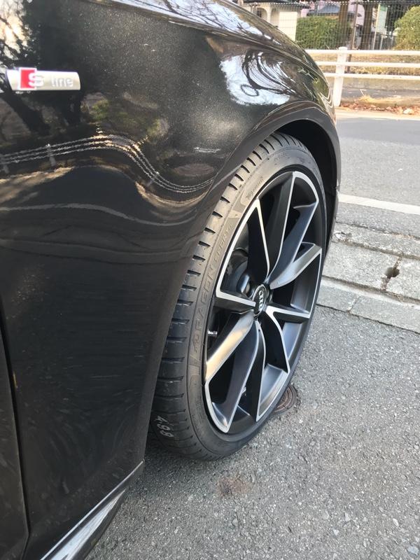Audi純正(アウディ) コンペティション用19インチ