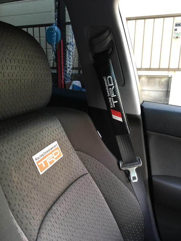 TRD / トヨタテクノクラフト シートベルト