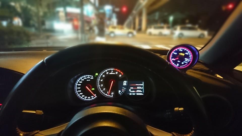 AutoGauge 548シリーズ 油圧計