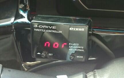 PIVOT 3-Drive throttle controller