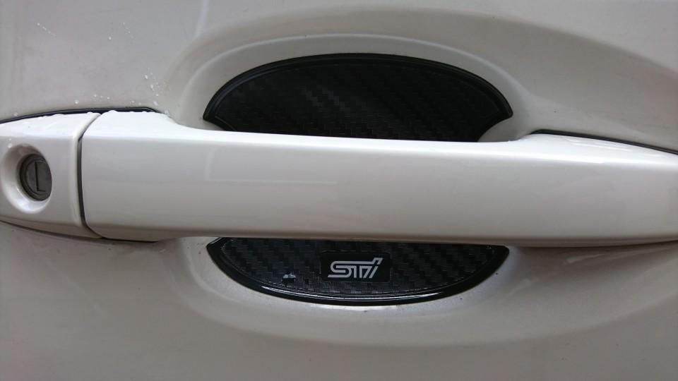 STI ドアハンドルプロテクター