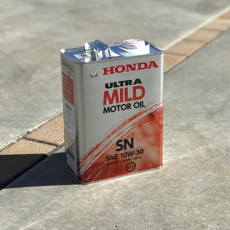 ホンダ(純正) Honda ULTRA MILD (API SN/GF-5級SAE 10W-30)